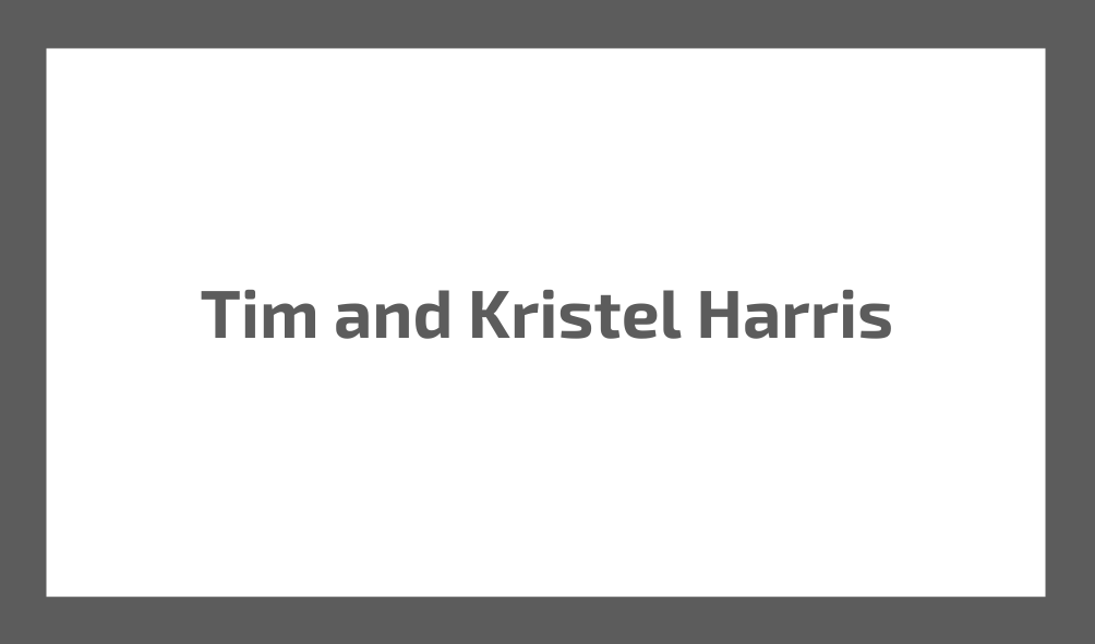 Tim & Kristel Harris